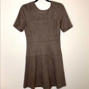 Fate Fischer Faux Suede Midi Dress Stitch Fix MED